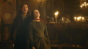 Catelyn kills Joyeuse