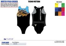 N A Tiger Womens Suit 2012
