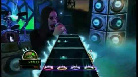 "Guitar Hero World Tour - Ozzy Osbourne ""Mr Crowley"""