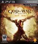 God of War Ascencion PS3 cover