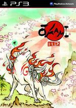 Okami HD PS3 cover