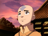 Aang at Jasmine Dragon