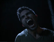 Derek tries to intimidate cora