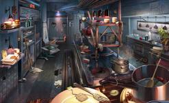 Restaurante de cozinha