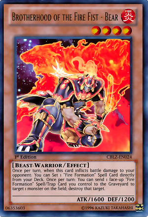 Blazing Our Way To Victory! The Fire King Archtype Discussion Thread 300px-BrotherhoodoftheFireFistBear-CBLZ-EN-UR-1E