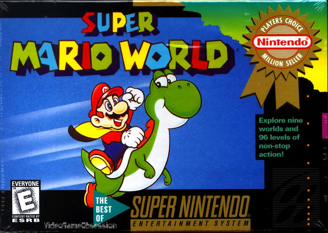 Super Mario World[Super Nintendo] Super_Mario_World