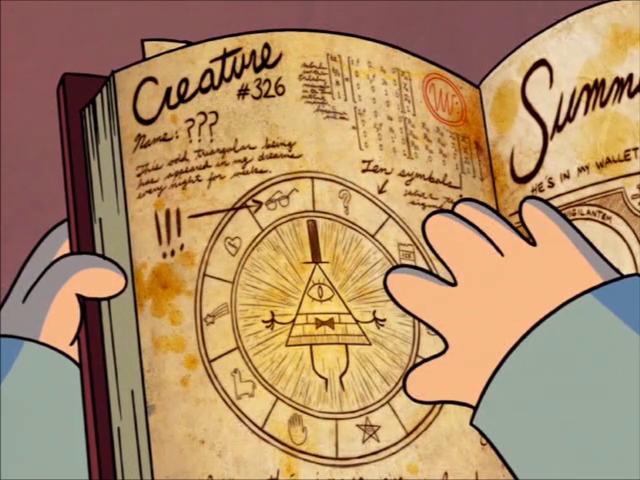 Bill Cipher circle