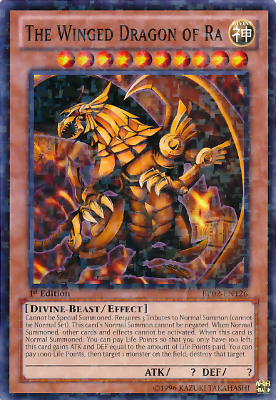 The Winged Dragon of Ra - Yu-Gi-Oh The Winged Dragon Of Ra Effect