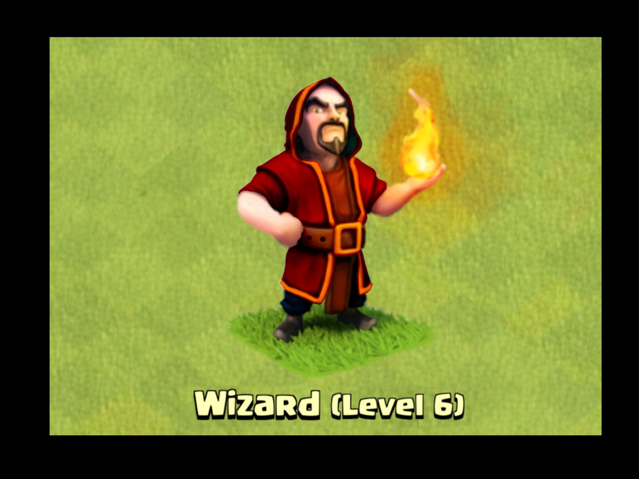 The new level 6 wizard - Clash of Clans Wiki