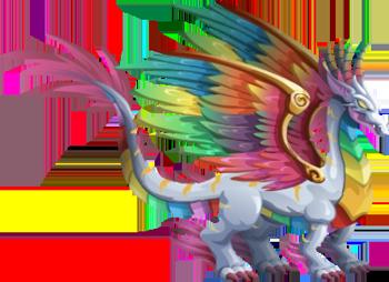 Rainbow Dragon - Dragon City Wiki