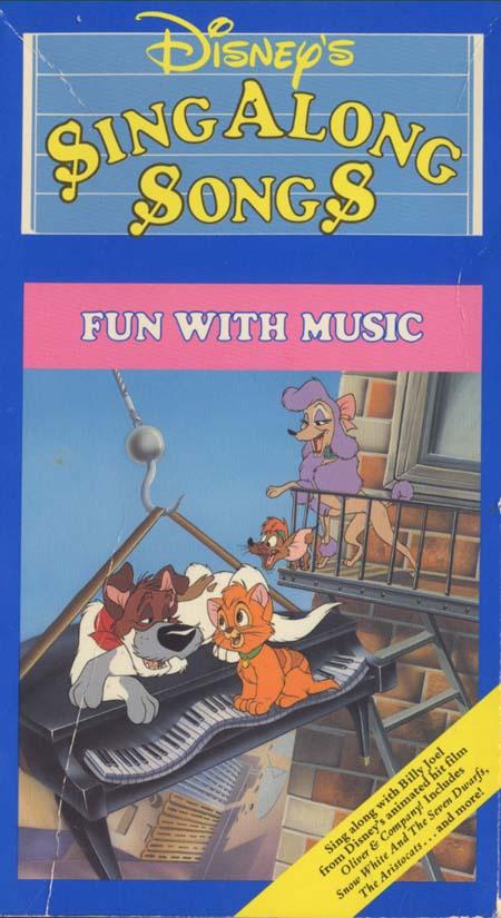 Disney Sing Along Songs Fun With Music Disney Wiki