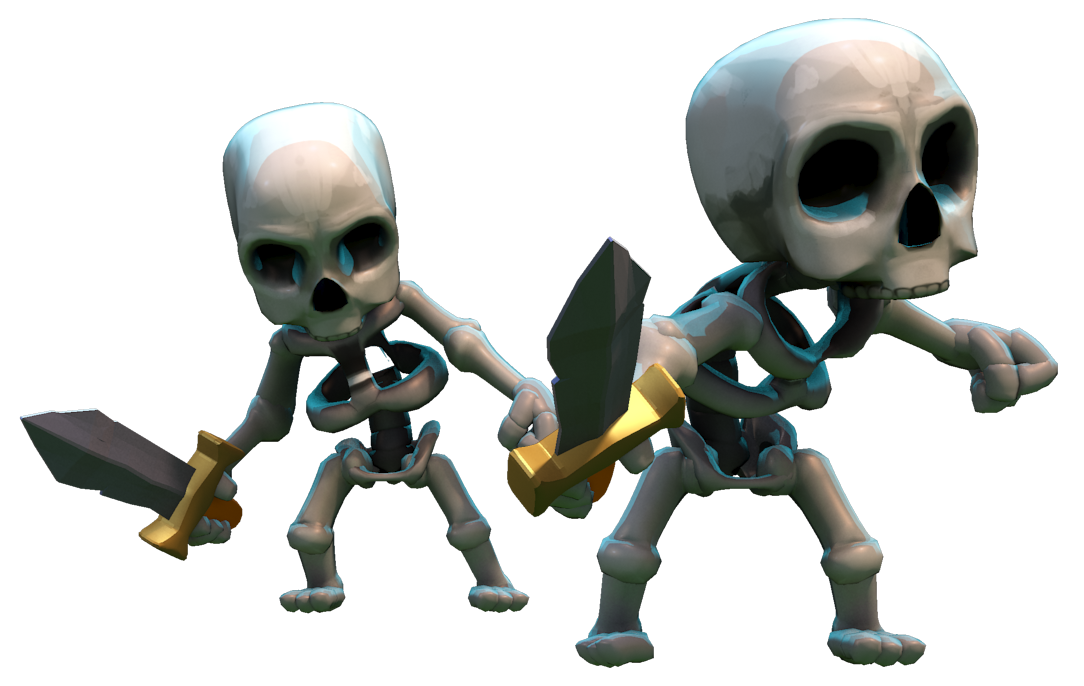 Witch/Skeleton - Clash of Clans Wiki