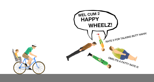 Happy Wheels Total Jerkface Wiki