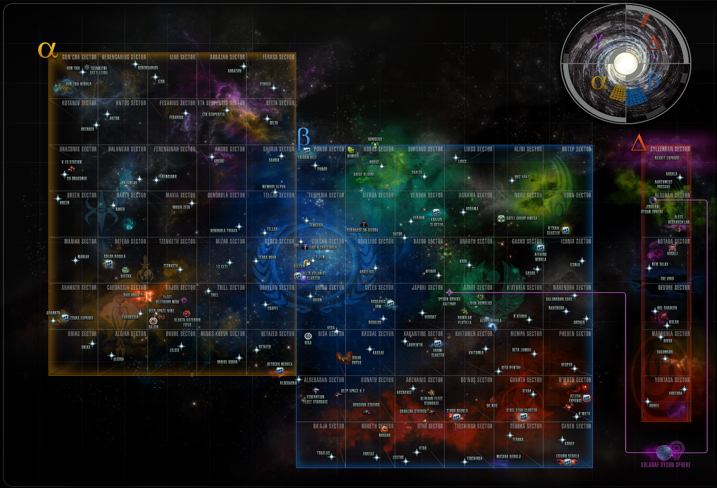 This Map Was Made Available By Www En Memory Alpha Org