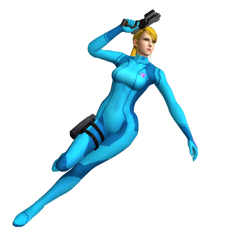 I need a Justin Bailey Suit Samus artwork like this: Samus Zero Suit.png