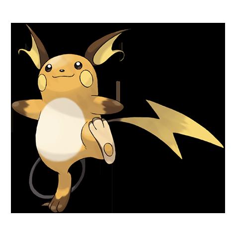 Juntemos a todos los pokemon 026Raichu
