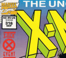 Uncanny X-Men Vol 1 316