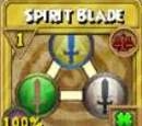 Spirit Blade Treasure Card