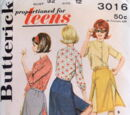 Butterick 3016 A