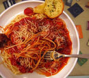 Mrs. Truman's Spaghetti and Meat Balls