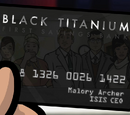 ISIS Black Titanium Credit Card