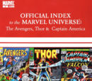 Avengers, Thor &amp; Captain America: Official Index to the Marvel Universe Vol 1 3