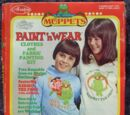 The Muppet Show Paint 'n Wear Clothes and Fabric Painting Kit