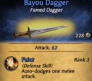 Bayou Dagger