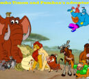 Simba, Timon, and Pumbaa's Adventures Series