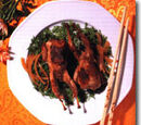 Marinated Quail in Honey