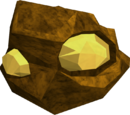 Gold rock
