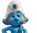 Gutsy Smurf
