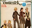 Butterick 5986 A