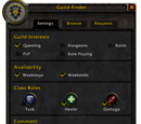 Guild Finder