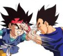 Goku Jr. vs Vegeta Jr.