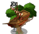 Pirate Ship Treehouse