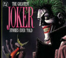 Greatest Joker Stories Ever Told (Trade Paperback) Vol 1 1