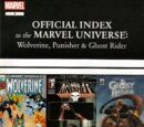 Wolverine, Punisher & Ghost Rider: Official Index to the Marvel Universe Vol 1 5