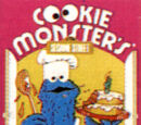 Cookie Monster's Colorforms Kitchen