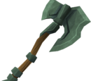 Adamant battleaxe
