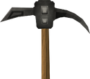 Iron pickaxe