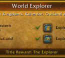 Exploration achievements
