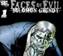 Faces of Evil: Solomon Grundy Vol 1 1