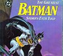 Greatest Batman Stories Ever Told Vol 1 1