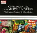 Wolverine, Punisher & Ghost Rider: Official Index to the Marvel Universe Vol 1 4