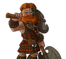 Scottish Warrior Costume