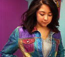Glittered Denim Jacket
