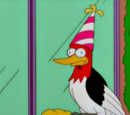 Flanders' pet woodpecker