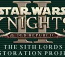 The Sith Lords Restoration Project