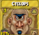 Cyclops Treasure Card